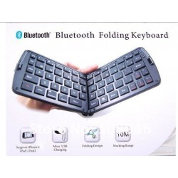 Mini Foldable Wireless Bluetooth Keyboard